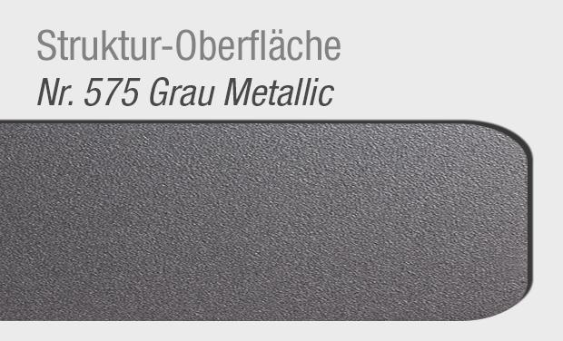 Struktur-Oberfläche 575 Grau Metallic für Haustür