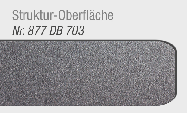 Struktur-Oberfläche DB703 für Haustür