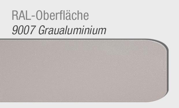 RAL Oberfläche 9007 Graualuminium für Haustür