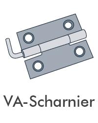 Insektenschutz von Portal - VA Scharnier