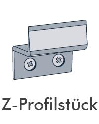 Insektenschutz von Portal - Z-Profilstück