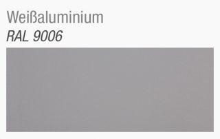 Paneelen Dekor RAL9006 weißaluminium