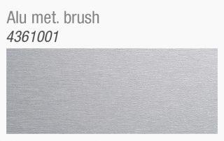 Paneelen Dekor alu met brush 4361001