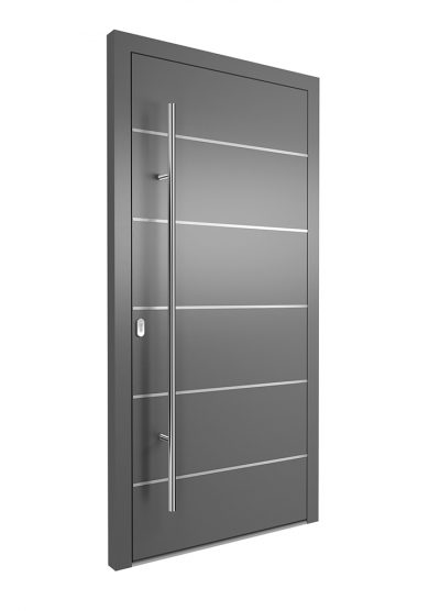 Portal Aluminium Haustür 1320