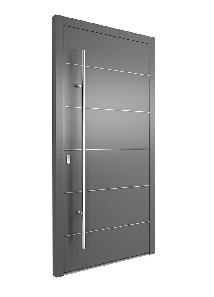 Portal Aluminium Haustür 1330