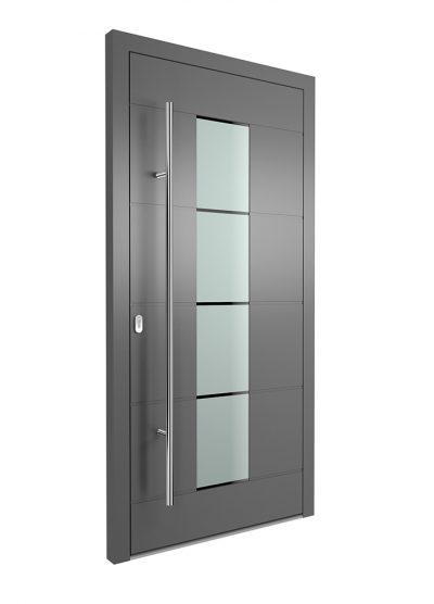 Portal Aluminium Haustür 1380