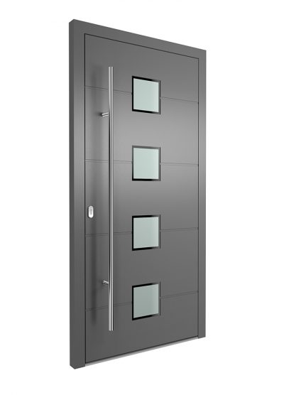Portal Aluminium Haustür 1410