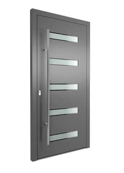 Portal Aluminium Haustür 1420