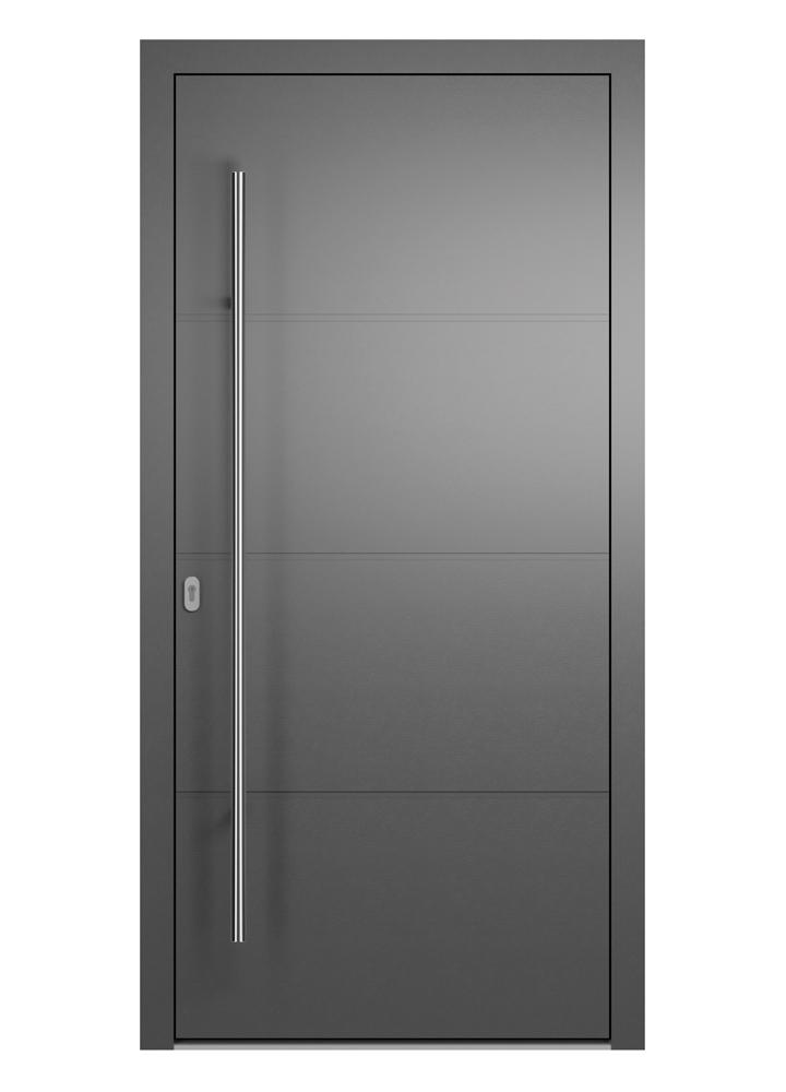 Portal Aluminium Haustür 2120