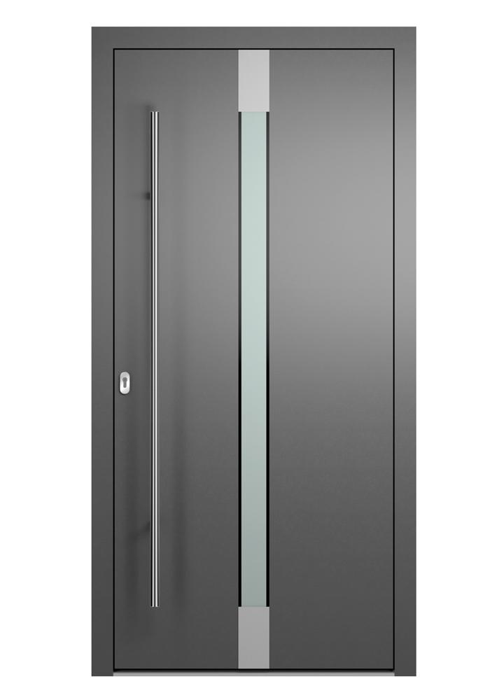 Portal Aluminium Haustür 2140