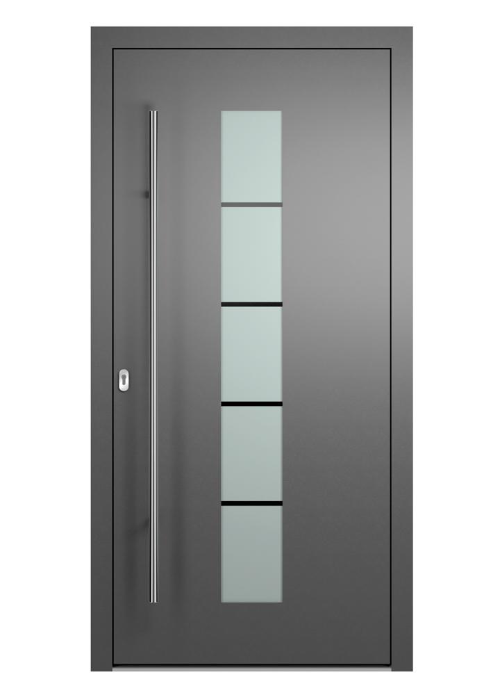 Portal Aluminium Haustür 2150