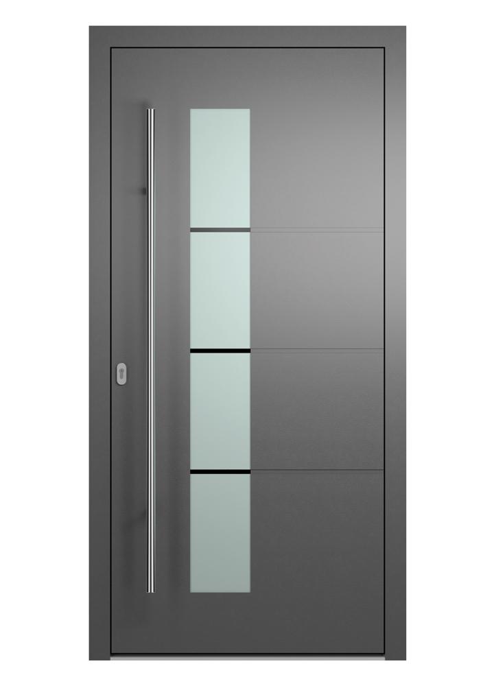Portal Aluminium Haustür 2160