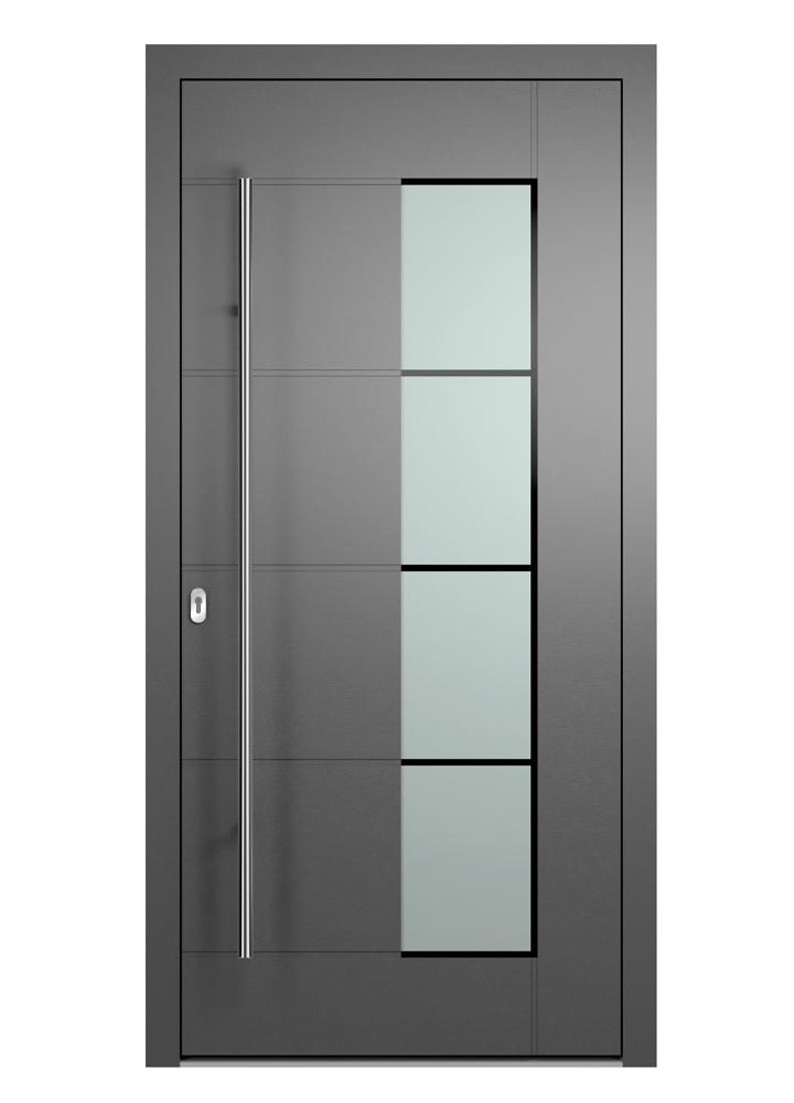 Portal Aluminium Haustür 2170