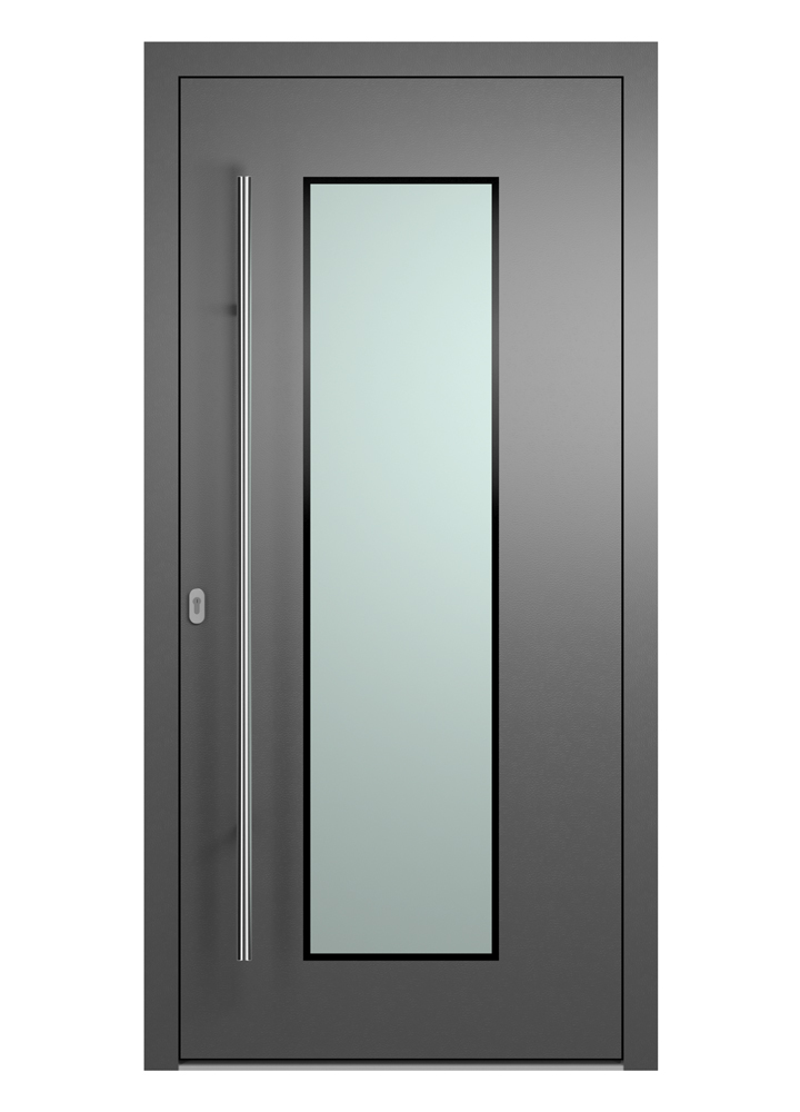Portal Aluminium Haustür 2190