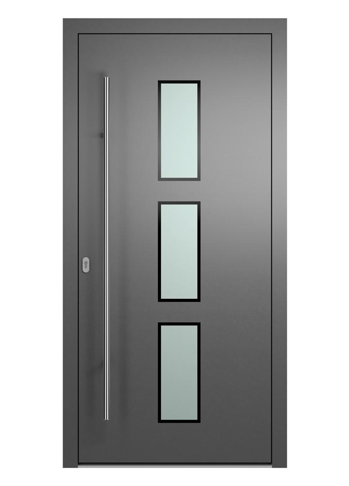 Portal Aluminium Haustür 2200