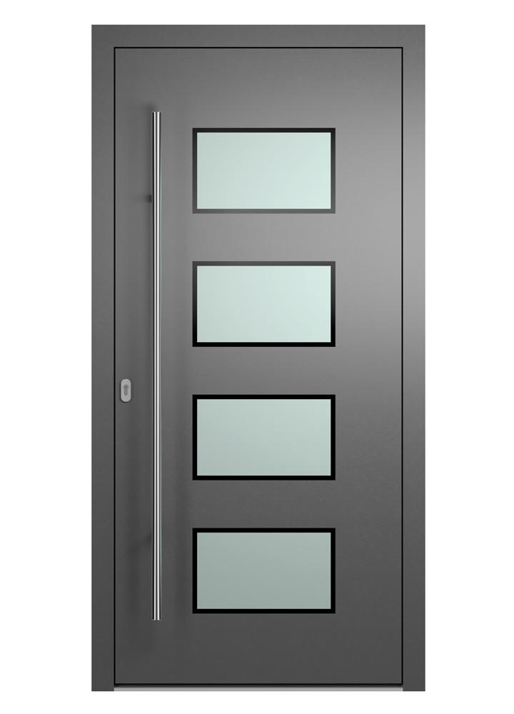 Portal Aluminium Haustür 2210