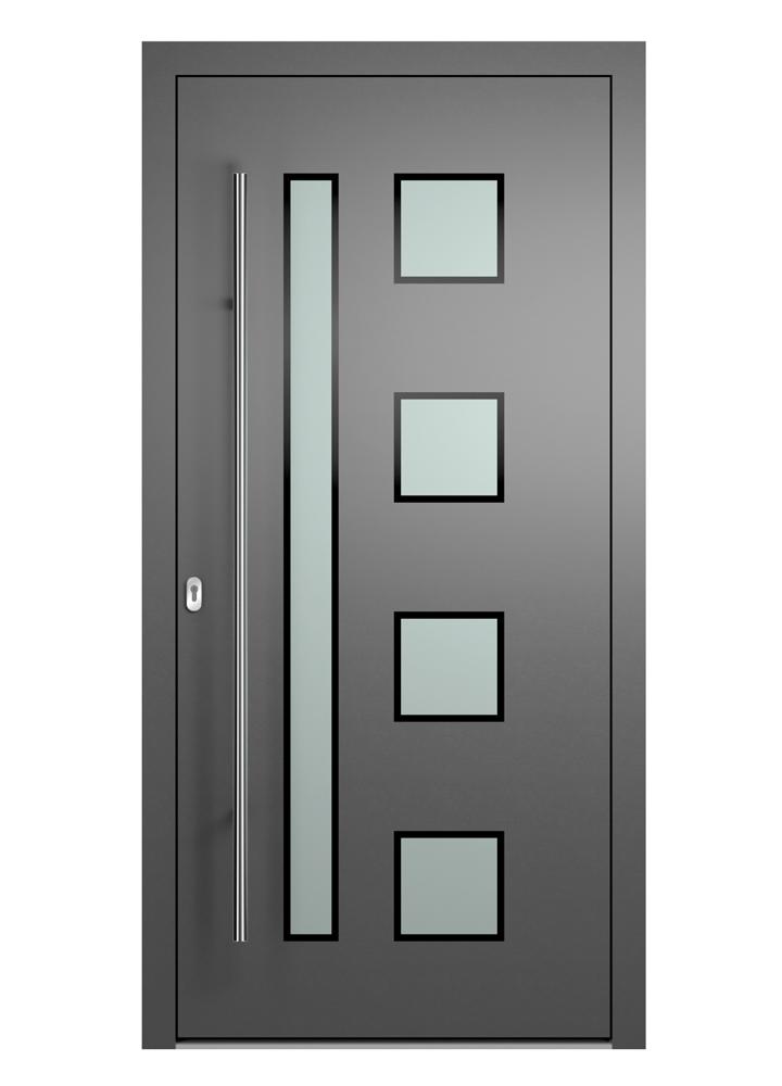 Portal Aluminium Haustür 2220